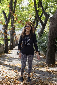 Sporty look! More on --> http://www.agoprime.it/look-sportivo-per-lautunno/