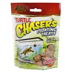 Zilla® Turtle Chasers Floating Treats with Real Shrimp - PetSmart