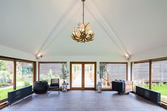 Chelsom Highlands Ceiling Fitting at Galgorm Resort and Spa Highlands, Hospitality, Spa, Chandelier, Ceiling Lights, Projects, Home Decor, Log Projects, Candelabra