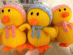 easter chicks - by Ann