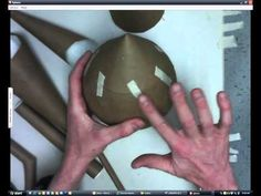 Paper Mache Sculpture - Part 4: Combining parts together - YouTube