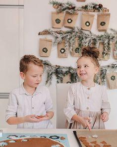 💕 в Instagram: «Dzień piernikami pachnący ♥️ . . . #adwent #kalendarzadwentowy #adwenciak #pierniczki #dzieci» Diy Advent Calendar, Linen Bag, Kids Clothing, Boy Fashion, Baby Shower Gifts, Knitwear, Kids Outfits, Christmas Gifts, Pouch