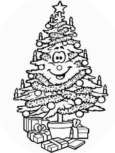 dibujos de rboles de navidad