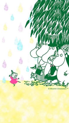 Ghibli, Little My Moomin, Moomin Wallpaper, Moomin Valley, Tove Jansson, Simple Doodles, Cute Characters, A Comics, Lettering Design