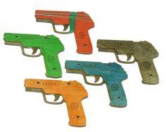 Opakovací pistole na gumičky