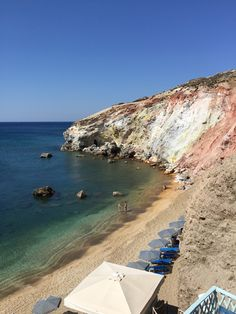 Grèce Cyclades Milos Plage de Paliochori