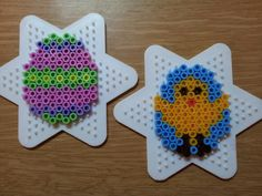Easter hama bead crafts used at Messy Church