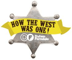How the West was One! logo,  Whenever you see this, you'll know it's about the West Nine project.