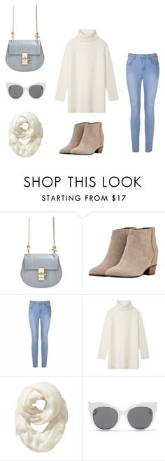 """""""sweet and innocent"""" by fashionlee-co ❤ liked on Polyvore featuring Chloé, Augusta, Ally Fashion, Tory Burch, Old Navy and Blanc & Eclare"""