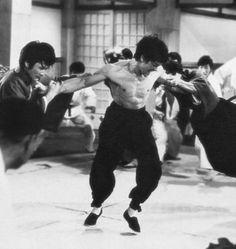 Bruce Lee. Fist of Fury