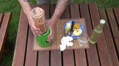 Apfel-Birne-Pfirsich-Erdbeer Smoothie mit Holundersirup Drinks, Food, Pear, Apple, Peaches, Fruit, Essen, Drink, Yemek