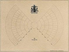 Blank Family Tree Template or 7-generation Bow-Tie Chart