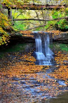 The Cascades in Glen Helen Nature Preserve, Yellow Springs, Ohio