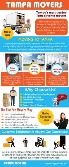 Look at this web-site http://flatfeemovers.net/tampa for more information on Moving To Tampa FL. Check out your things, anything that should be taken to the junk, you should put in the junk yard. Do not bring junks along with you as you Moving To Tampa FL to your new home.