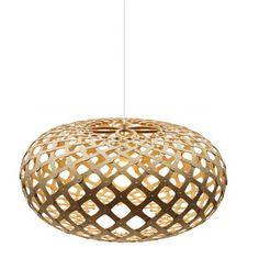 David Trubridge Kina Natural Pendant Light Special Edition