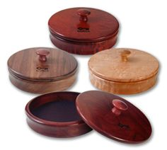 Round Wood Box #jewelrybox