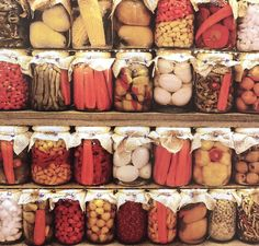 Turkish people are wild about crisp pickled vegetables. These can include whole garlic, carrots, beets, peppers, corn on the cob and more...