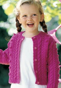 Cardigan (6 mois - 1-2-4 ans)