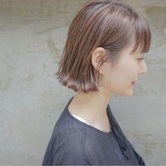 Pin on hair Short Hairstyles For Women, Bob Hairstyles, Short Hair Cuts, Short Hair Styles, Hair Arrange, Dyed Hair, Hair Pins, Hair Color, Hair Beauty