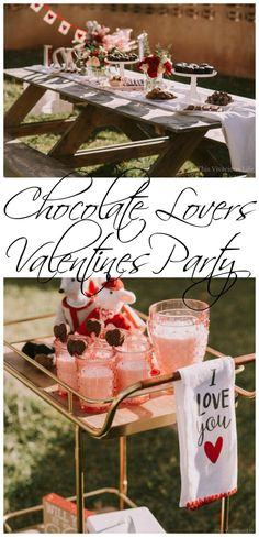 This chocolate lovers Valentines party is so easy to recreate and will be the most delicious celebration you have ever attended. || This Vivacious Life #valentinesdayparty #partyideas #chocolatelovers