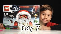 Day 7 LEGO STAR WARS Advent Calendar Review Set 9509 - 2012   Stop Motio...
