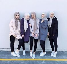 Group photo, hijab, instagram inspiration - #Group #hijab #Inspiration #Instagram #photo