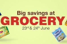 Amazon The Grocery Sale On 23rd And 24th June Great Discount On Grocery Items