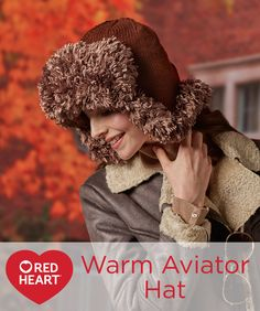 Warm Aviator Hat Fre