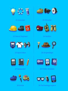Icons Pack on Behance