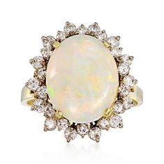 I love me some opal, especially when it's vintage.
