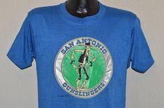 80s San Antonio Gunslingers USFL Football by thecaptainsvintage