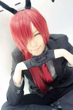 Zange Natsume cosplay! Got the eye perfect haha! #inuxbokuss #cosplay