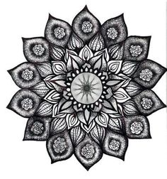 Mandala But maybe with peacock feathers, upper back