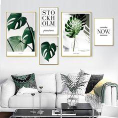 Gold Wall Art, Leaf Wall Art, Leaf Art, Canvas Art Quotes, Wall Art Quotes, Quote Wall, Office Wall Art, Office Decor, Modern Prints