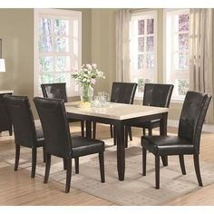 Anisa 7 Piece Dining Table and Chairs Set 102771