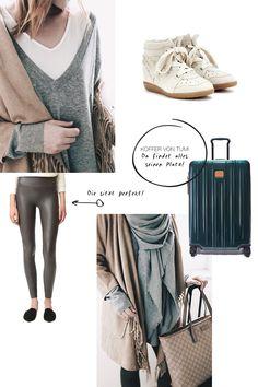 Ganz nach dem Motto stylisch und bequem verrate ich euch heute alles zu meinem perfekten Reiseoutfit, meinen Beauty-Must-haves und gebe auch Handgepäck-Tipps!