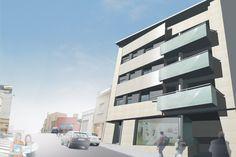 LAUR Building. Residential Terrassa. Barcelona (Spain) QIDStudio. Artur Fuster Architects