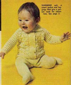 Ravelry: Sunshine Suit pattern by The Australian Women's Weekly