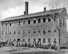 The Mallory Hat Factory Before 1884, Danbury, CT.