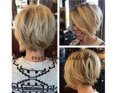50 Couleurs Tendance 2015 Pour Vos Cheveux Courts ! | Coiffure simple et facile