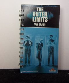 Recycled Notebook From Outer Limits Episode by AWRecycledJournals, $8.00