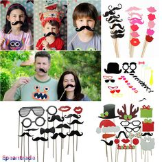 Fun DIY Photo Booth Props Mustache On A Stick