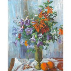 Margaret Olley - Still Life with Oranges 1964 oil on board Australian Painters, Australian Artists, Margaret Preston, Still Life Artists, Visual And Performing Arts, National Art, Art Festival, Art Auction, Artist Art