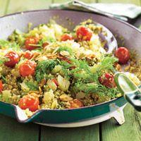 Ensalada de tomate y quinoa
