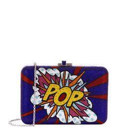 Judith Leiber Pop Art Crystal Clutch available to buy at Harrods.Shop for her online and earn Rewards points.