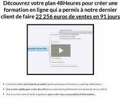 créer une formation en ligne. Découvrez votre plan 48Heures pour créer une formation en ligne qui a permis à notre dernier client de faire 22 256 euros de ventes en 91 jours
