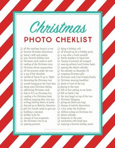 The holidays will soon be upon us and we all want to capture the wonder and beauty of this time of year. Here is a printable list of 50 Christmas photo ideas and photography prompts to get you inspired! #christmastips