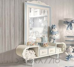 #kidsroom #childrenroom #designideas #furniture #kids #children #design #style #interior Туалетный столик Ebanisteria Bacci Sophie, SPPSP