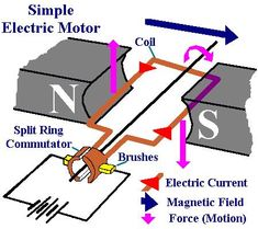 simple electric motor