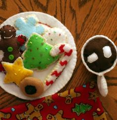 Free Christmas Cookies Sewing Pattern | Jessica Peck